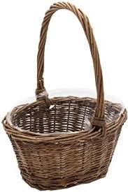 Rattan & Wicker - Shelf Baskets / Baskets, Bins ... - Amazon.com