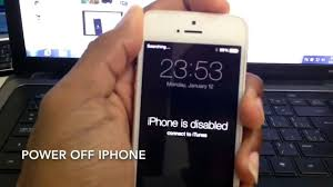 RESET PASSCODE locked or disabled iPhone 6 5s 5c 5 4s 4 3gs iPad