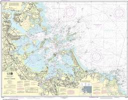 Boston Harbor Chart Noaa Nautical Chart 13270 Boston Harbor