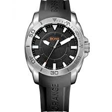 quality hugo boss watches rubber strap hugo boss watches rubber boss orange men s black silicone strap watch 512950 watches jewelry watches macy s