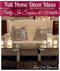 Metallic Home Decor Lush Fab Glam Blogazine Pretty In Sequins And Metallic Home Dccor