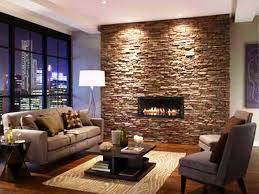 diy stacked stone fireplace ideas