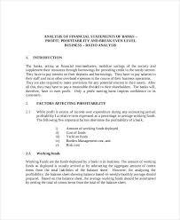 analysis example financial statement analysis example 10 financial statement analysis example premium templates