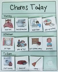 Free Preschool Chore Charts Subscriber Freebie Chore