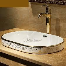 oval shaped modern bathroom sink