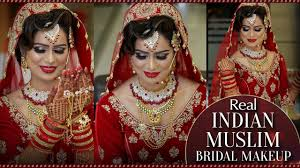 real indian muslim bridal makeup step by step makeup tutorial for muslim bride krushhh by konica beauty beauty