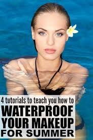 5 tutorials to teach you how to waterproof your makeup