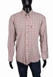 Barbour Size Chart Mens Details About Barbour Mens Shirt Tailored Cotton Checks Size Xxl