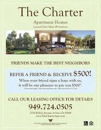 Refer A Friend Apartment Flyer Property Management