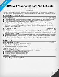project manager resume summary examples information security resume samples for project managers