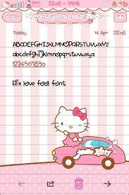 Cute Fonts For Android Rix Love Fool Font Cute Bebe Kitty