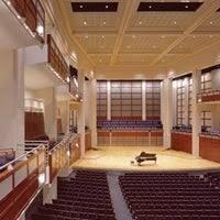 Meymandi Concert Hall Concert Hall In Raleigh