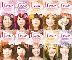 Liese Hair Dye Color Chart A Walk Down Memory Lane Liese Bubble Hair Colour
