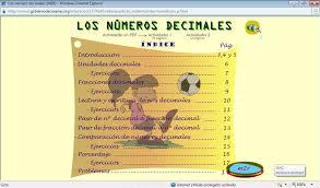 Resultado de imagen de los números decimales