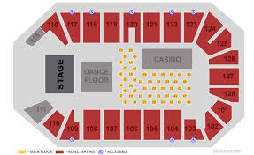 Dr Pepper Arena Circus Seating Chart Tickets City House Boogie Bash W Kc The Sunshine Band