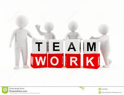 working as a team 3d people team work stock illustration illustration of humanoid