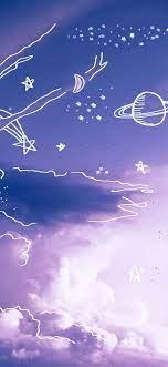 Purple wallpaper iphone, Sky aesthetic ...