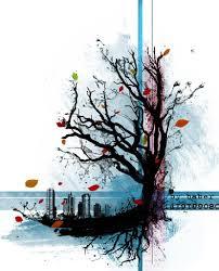 тату эскизы дерево