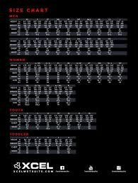 Xcel Wetsuits Size Chart Cm Xcel Axis Os 3 2 Wetsuit