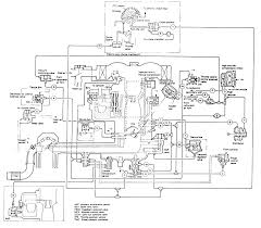 6 emission system schematic 1987 federal high altitude