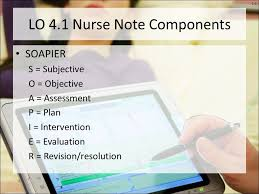 Subjective Objective Assessment Planning Note Enchanting 44444444 Chapter 4444 Nurse Note Documentation Level 4444 © 2044442 The McGraw