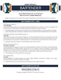 examples of bartending resumes resume templates examples of bartending resumes  resume templates bartender objectives resume -