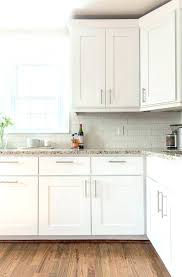 Hardware For White Kitchen Cabinets Bronze Hardware For White