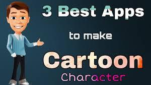 cartoon character making app