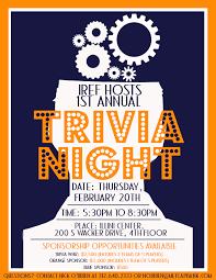 trivia night flyer templates free trivia night flyer template oyle kalakaari co