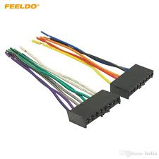 2019 feeldo car cd dvd audio stereo wiring harness adapter plug for 2019 feeldo car cd dvd audio stereo wiring harness adapter plug for ford mondeo mustang radio wire cable 3447 from feeldo 3 58 dhgate com