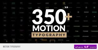 typography templates kinetic typography free after effects templates after effects