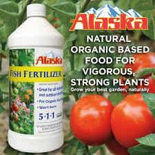 Alaska Fish Fertilizer Feeding Chart Alaska 32 Oz Organic 5 1 1 Liquid Fish Fertilizer