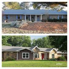 Home Exteriors Before And After Style Impressive Inspiration Ideas