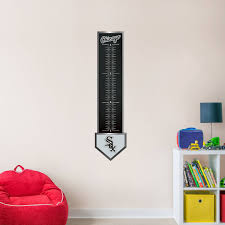 chicago white sox growth chart giant officially licensed mlb removable wall graphic fathead