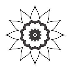 Kleurplaat Bloem Tekening Gratis Afbeelding Op Pixabay