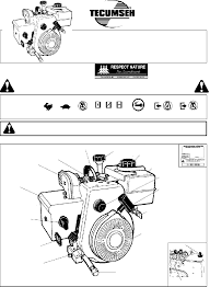 Tecumseh HSK35 Engine Operator's manual PDF View/Download