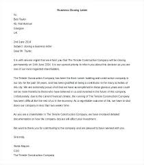 Business Letter Template Holiday Closing Announcement