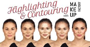 how to highlight and contour your face makeup factory