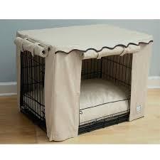 luxury dog crates furniture. Luxury Dog Crates Furniture Stone Beige Crate Cover Uk