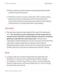 barilla spa case study 5 roll no 2013pgpm036 barilla spa