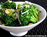 broccoli with garlic and asiago