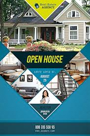 realtor open house flyers open house free psd flyer template best of flyers