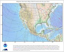 Compass Deviation Chart Magnetic Declination