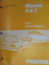 rx7 manual 1988 mazda rx 7 wiring diagram booklet manual factory original oem