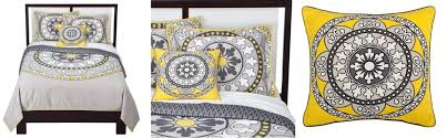 3 dwell for target grey white and yellow bedding