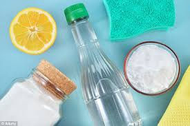 The popular beliefs that lemon juice cleans surfaces and vinegar is best  for glass have been