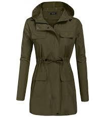 elover womens lightweight outwear raincoat