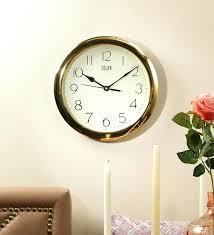 office wall clocks. Office Wall Clock Clocks Amazon Gold Frame Of Hanging .