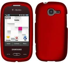 Cover For Samsung Gravity Q T289 - Red ...