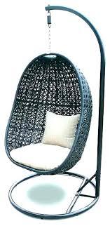 outdoor swing chair with stand hanging weller wicker basket outdoor